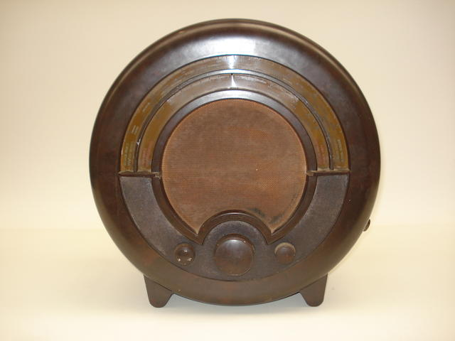 An Ekco type AD76 wireless receiver, 1935,