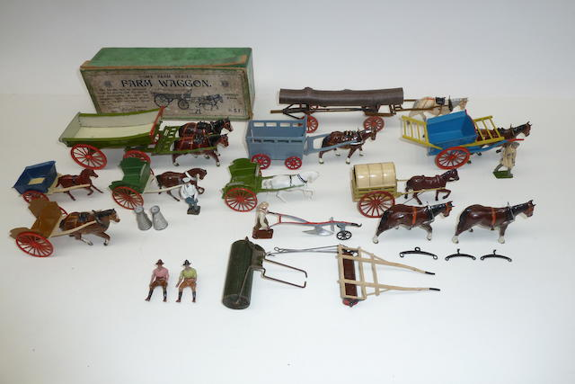 Britains and other Farm Horsedrawn Vehicles and Equipment 31