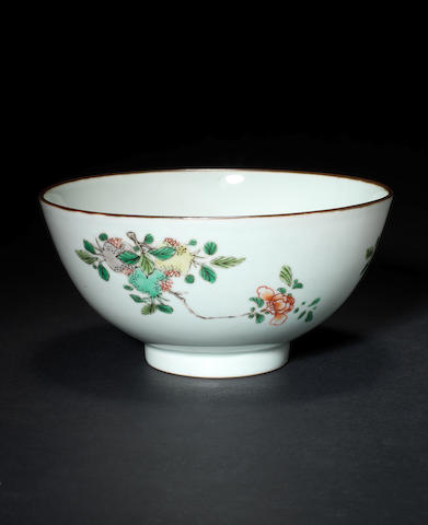 A celadon-glazed 'sanduo' bowl and cover Chenghua six-character mark