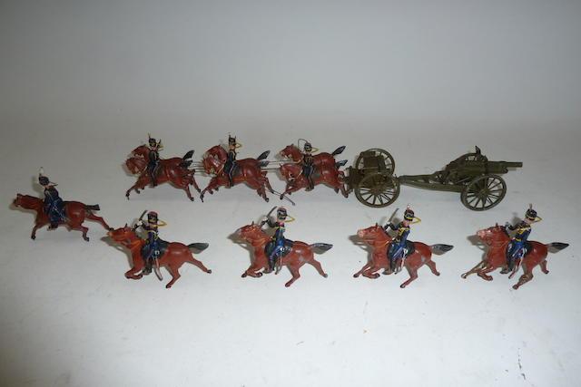 Britains set 39, Royal Horse Artillery