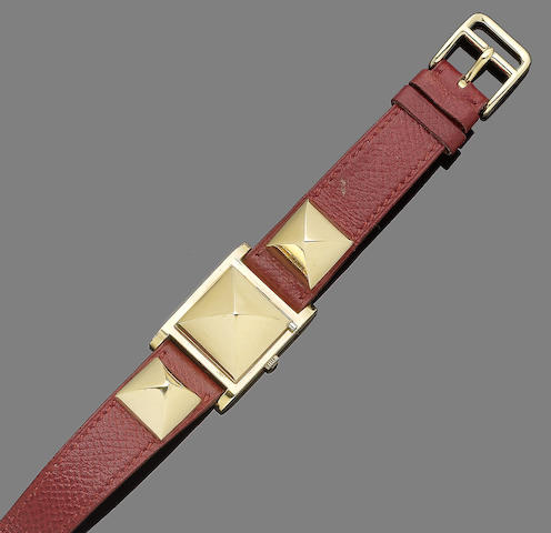 A wristwatch, by Hermès