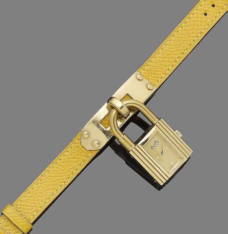 A wristwatch, by Hermès
