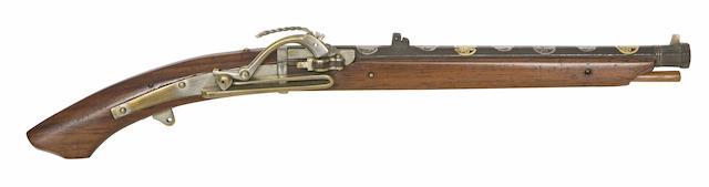 A Miniature Matchlock Musket