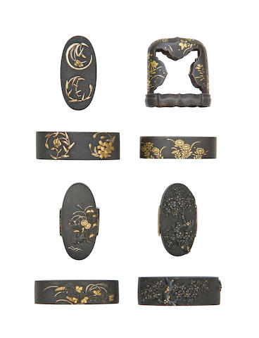 Four Pairs Of Fuchi-Kashira