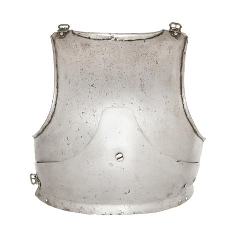 A Rare German Gothic Breast-Plate From The Sir Edward Barry Collection