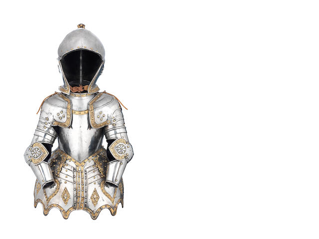 A Well-Made Reproduction Half-Armour For A Boy In Early 17th Century Style