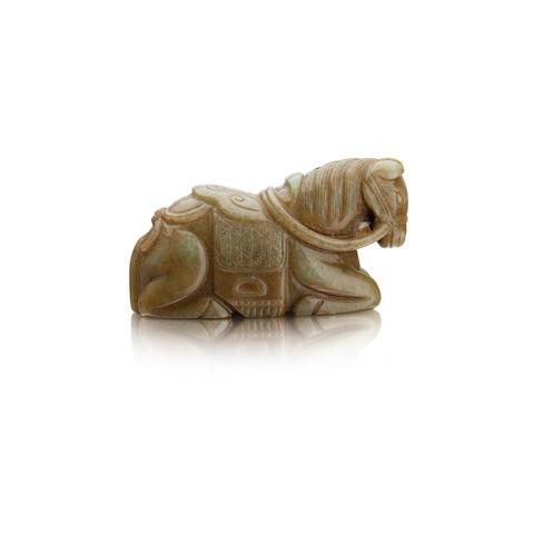 A jade horse