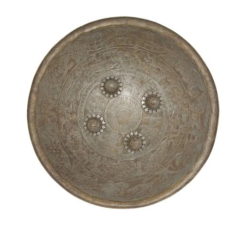 An Indian Circular Steel Dhal