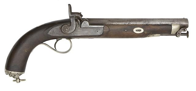 A 17-Bore Percussion Pistol For An Officer Of The Scinde Irregular Horse