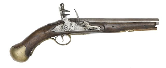A 25-Bore Arsenal Shortened Flintlock Long Sea Service Pistol
