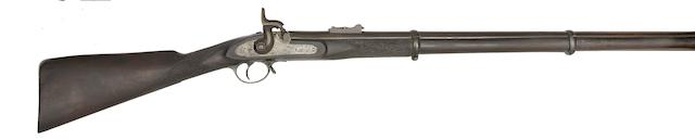 A .577 Commercial 1853 Pattern Third Model Percussion Rifle Musket