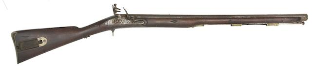 A Rare 14-Bore Commercial 1776 Pattern Volunteer Light Infantry Rifle, And A 32-Bore Flintlock Trade Musket