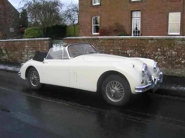 1959 Jaguar XK150S 3.4-Litre Drophead Coupé  Chassis no. T827334DN Engine no. VS1947-9
