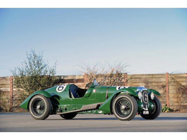 The ex-Works/Lord Selsdon & Lord Waleran,1939 Lagonda V12 Le Mans Team Car  Chassis no. 14090
