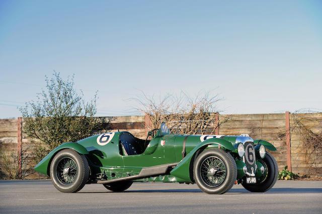 The ex-Works/Lord Selsdon & Lord Waleran,1939 Lagonda V12 Le Mans Team Car