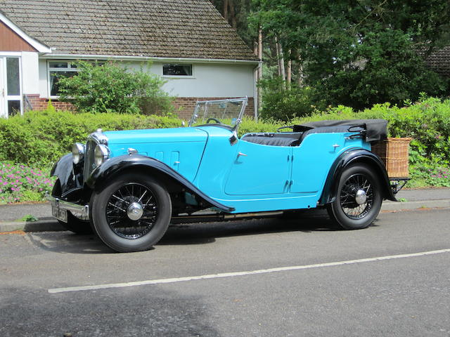 1935 Austin 12/6 (15.9hp) Newbury Tourer  Chassis no. F24395/15 Engine no. 1FFS 3594