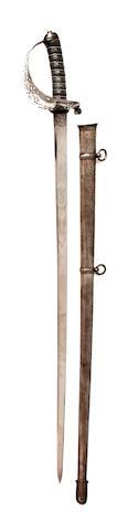 An Unusual Royal Engineer Officer's Sword