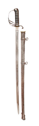 An 1821 Pattern Light Cavalry Officer's Sword