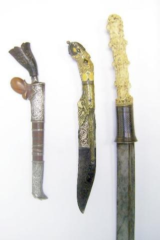A Malaysian Bade-Bade, A Ceylonese Piha-Kaetta, And A Burmese Dha