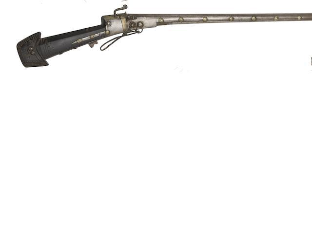 An Indo-Arab 20-Bore Matchlock Gun
