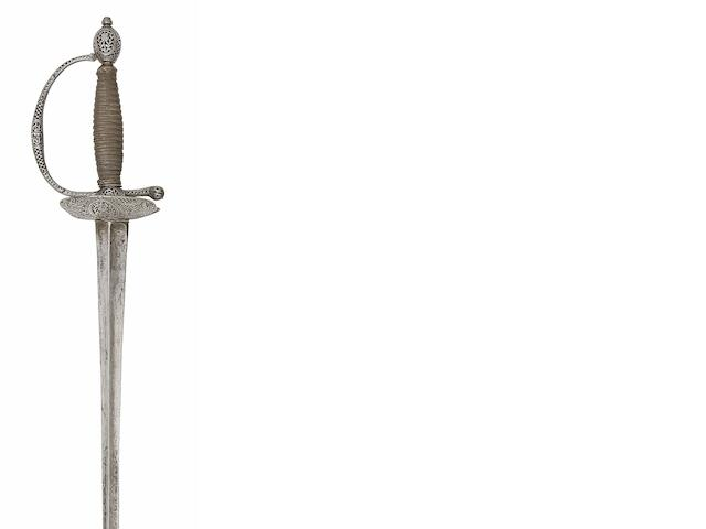 A French Iron-Hilted Small-Sword