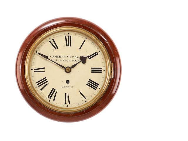 A Camerer Cuss wall clock