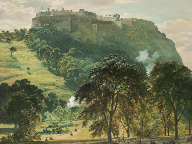 Samuel Bough, RSA (British, 1822-1878) 156 x 125 cm. (61 7/16 x 49 3/16 in.)