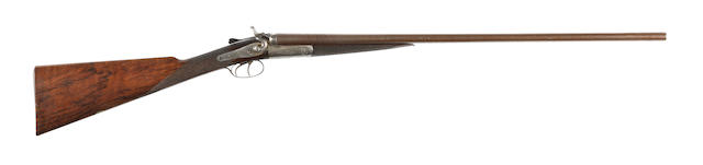 A 28-bore hammer gun, no. B4601/67842 Manufactured for George Gibbs