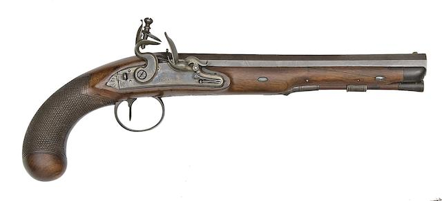 A 14-Bore Flintlock Pistol