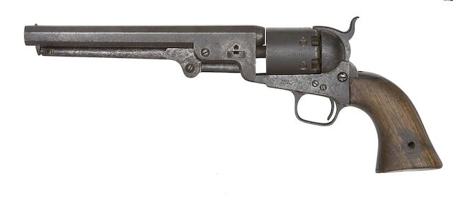 A Colt 1851 Model Navy Percussion Revolver