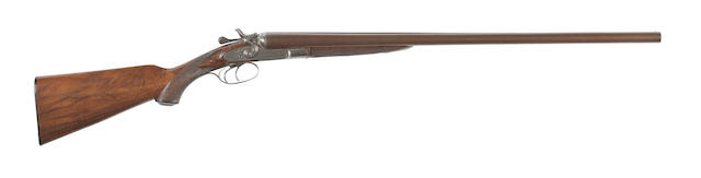 A 12-bore sidelock hammer gun by E. James & Co., no. 1722
