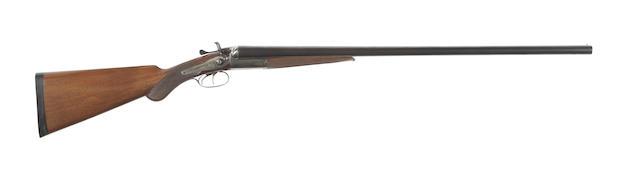 A 12-bore hammer gun by Ward & Sons, no. 9208/Z12877