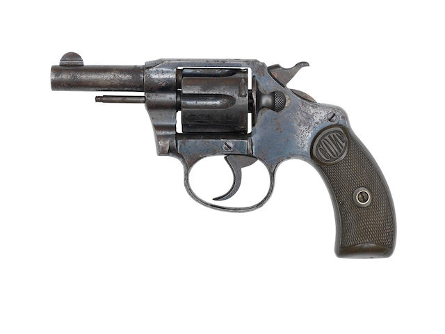 A .32 (Colt) 'Pocket Positive' revolver by Colt, no. 44452