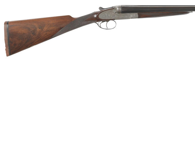 A 12-bore sidelock ejector gun by A. Valin, no. 26251