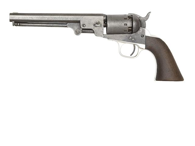A .36 Manhattan (Navy Type) Series III Five-Shot Percussion Revolver