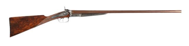 A 12-bore hammer gun by J. Purdey, no. 7813
