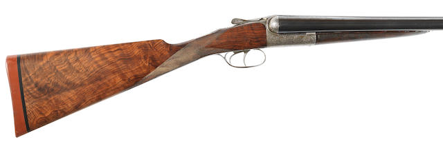 A 12-bore assisted-opening round-action ejector gun by John Dickson & Son, no. 5888