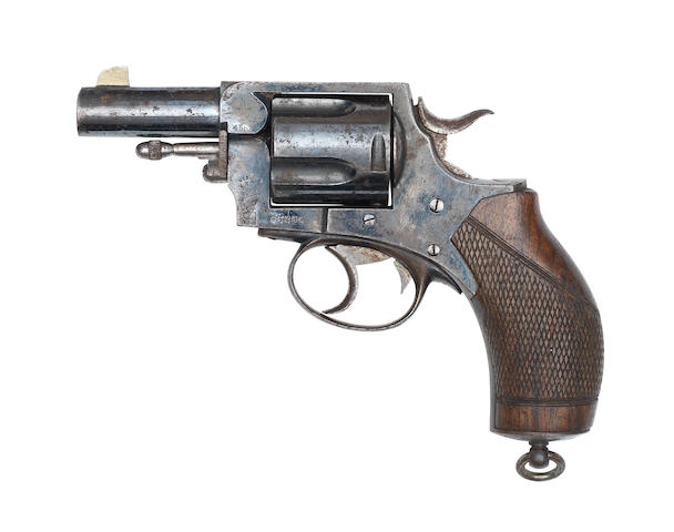 A .455 'RIC Model/83 6 Shot' revolver by P. Webley & Son, no. 95254