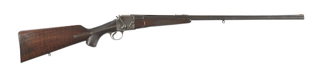 A rare Field-patent .303 falling-block rifle by Holland & Holland, no. 19548