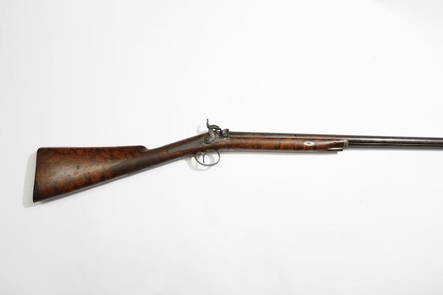 A 13-Bore Percussion Sporting Gun