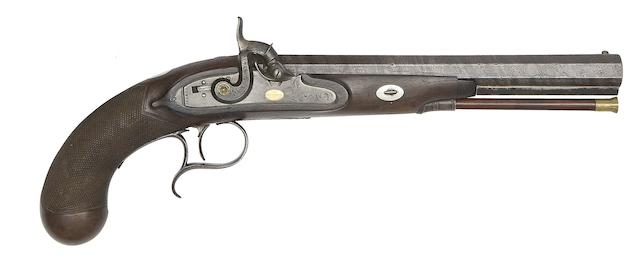 A 22-Bore Percussion Duelling Pistol