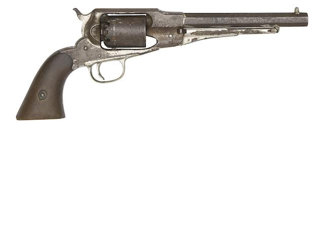 A .36 Remington New Model Navy Six-Shot Percussion Revolver