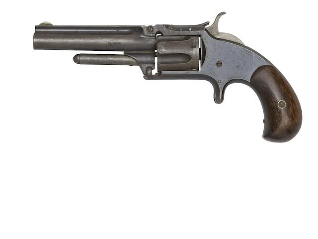 A .32 Smith & Wesson Model No. 1½ Second Issue Five-Shot Rim-Fire Revolver