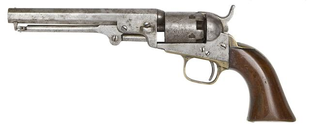 A Colt 1849 Model Pocket Percussion Revolver