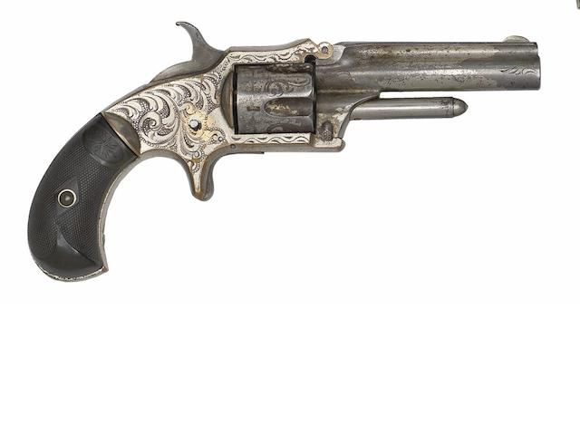 A .30 Marlin Standard Model Five-Shot Rim-Fire Pocket Revolver