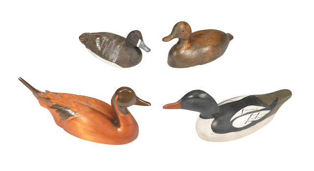 Four duck decoys (4)