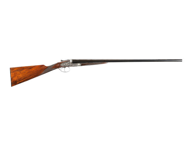 A 12-bore self-opening sidelock ejector gun by J. Purdey & Sons, no. 16784 In a canvas case