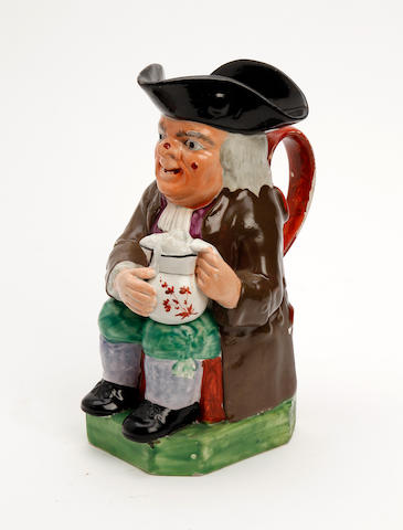 A Staffordshire Toby jug 19th Century