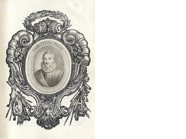 SOPRANI (RAFAELE) Le vite de pittori, scoltori, et architetti Genovesi, 1674