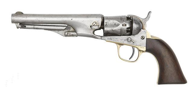 A Colt 1862 Model Police Percussion Revolver
